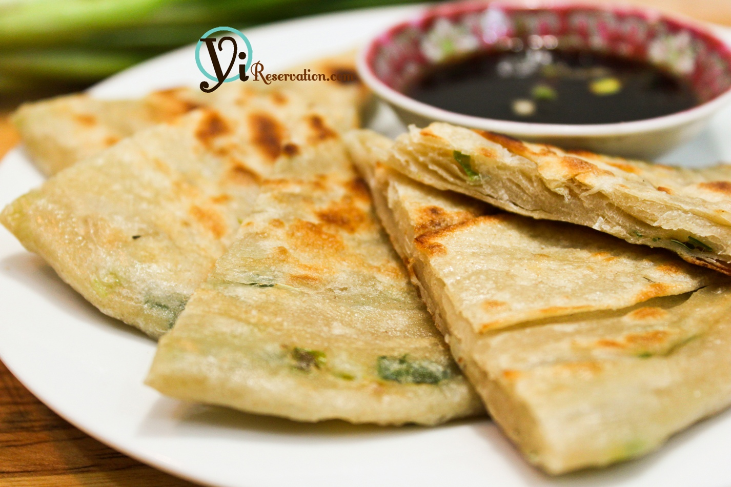 how to make Scallion Pancakes (葱油餅) | Yi Reservation