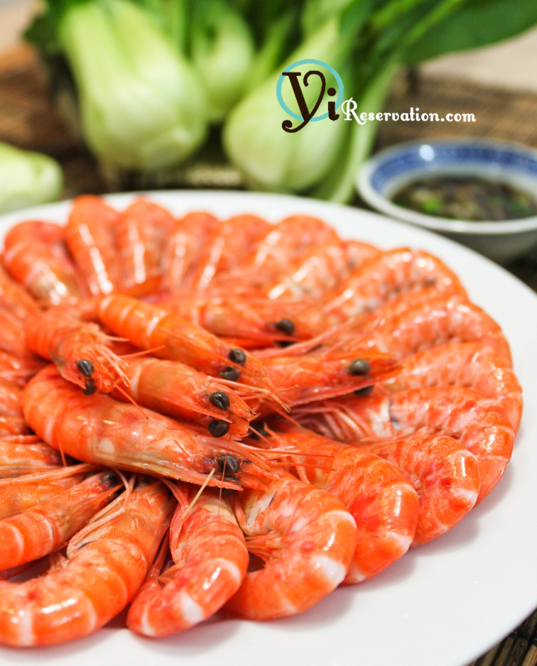 how to serve frozen cooked prawns