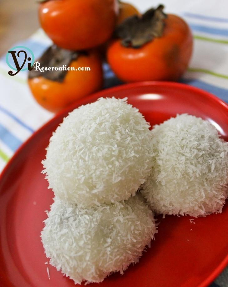 microwave mochi recipe coconut milk