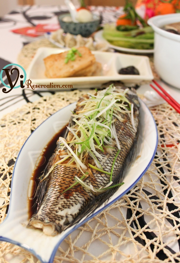 Chinese new year special traditional steamed fish for Chinese steamed fish recipe