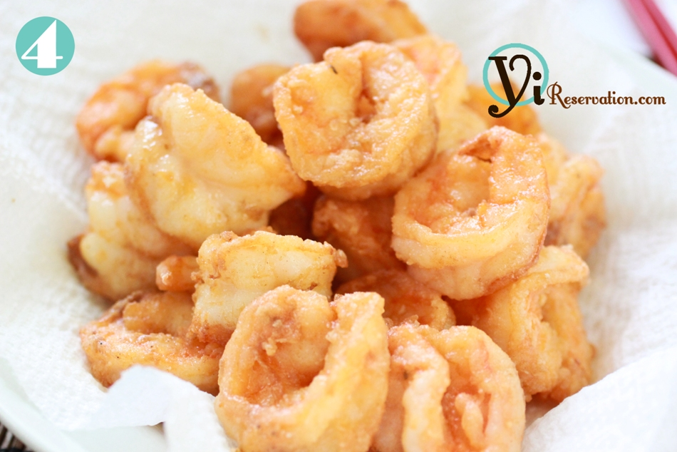 Chinese Buffet Style Coconut Shrimp (椰子蝦) | Yi Reservation