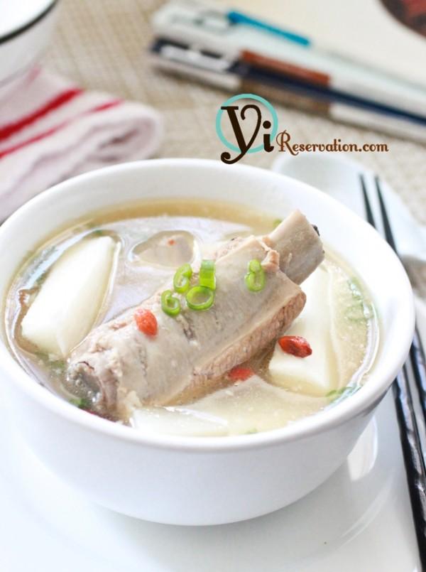 Fresh Chinese Yam recipe