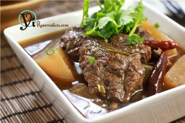 Szechuan Red Braised Beef (紅燒牛肉)