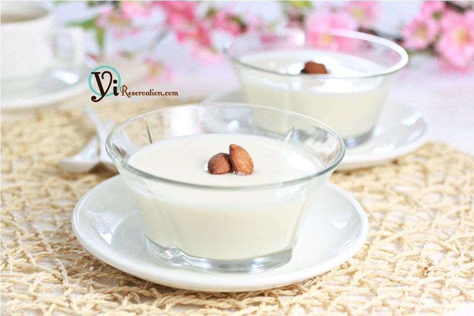 Almond Tofu Recipe (杏仁豆腐