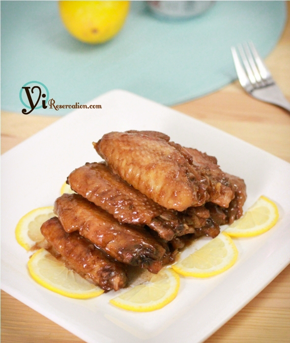 cola glazed wings