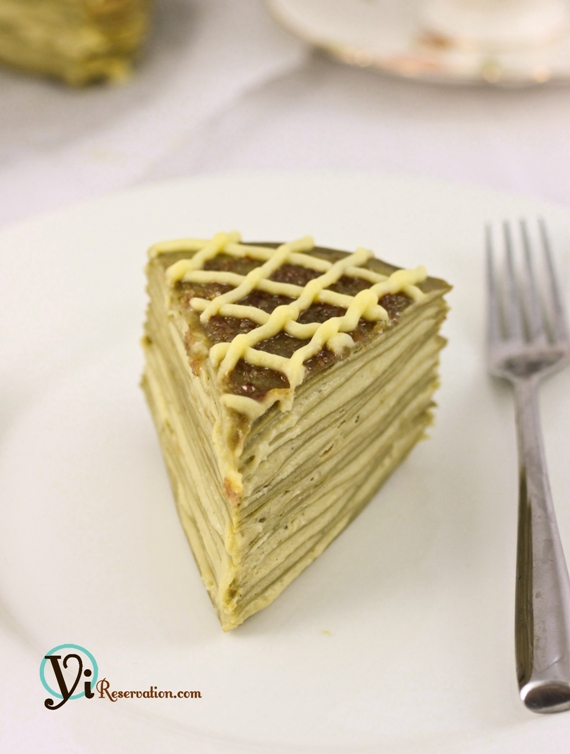 Green Tea Mille Crepe Recipe