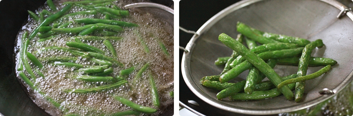 Sichuan Dry-Fried String Bean