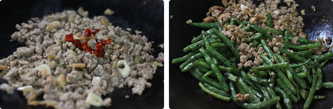 Sichuan Dry-Fried String Bean