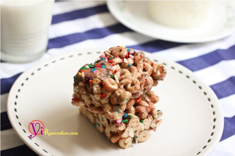 Chocolate Cheerio Krispie