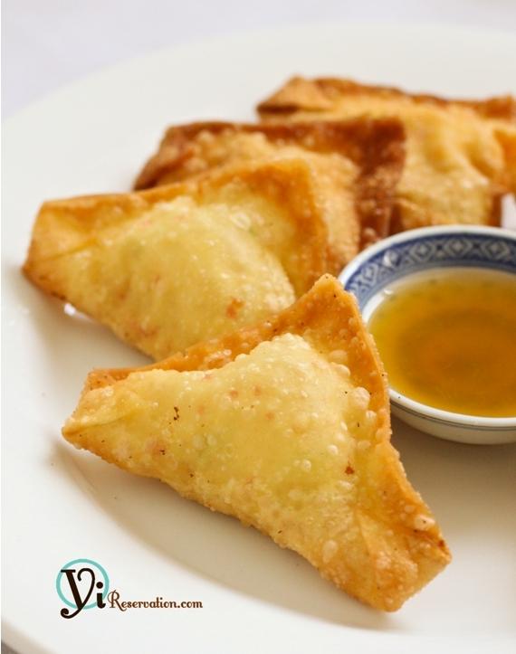 How to make Crab Ragu (Cheese Wonton) | 炸蟹角