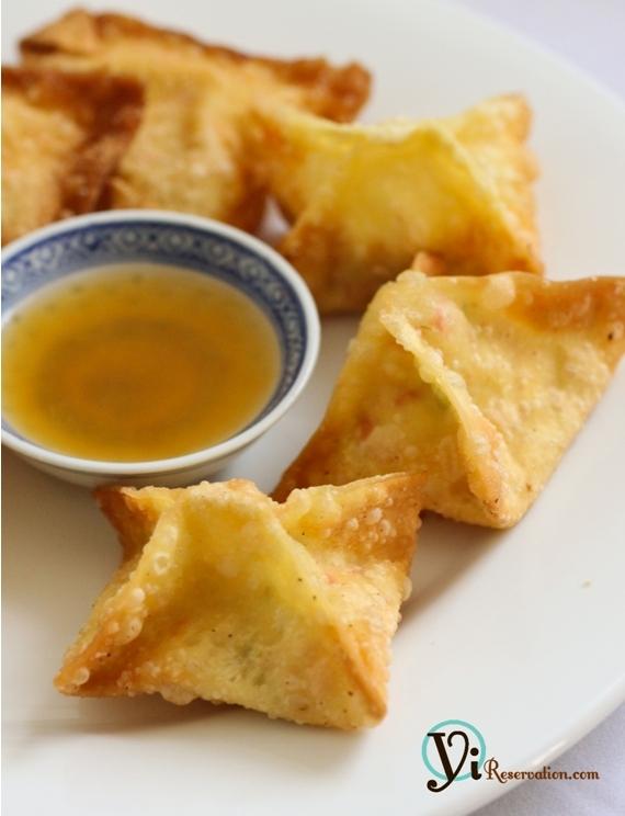 How to make Crab Rangoon (Cheese Wonton) | 炸蟹角