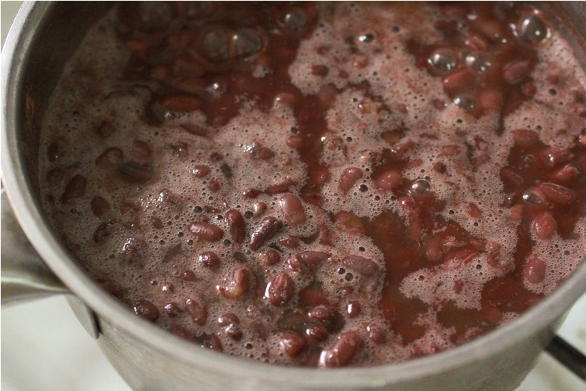 Homemade Sweet Red Bean Paste (Azuki Bean Paste) | 紅豆沙