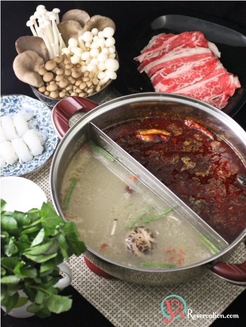 clear soup Chinese hot pot