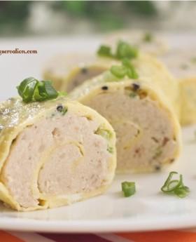 steamed-chicken-omelette-roll4