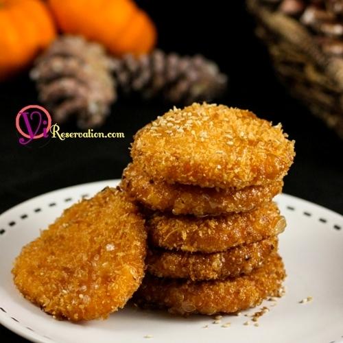 Chinese pumpkin cake yi reservation chinese pumpking cake forumfinder Gallery