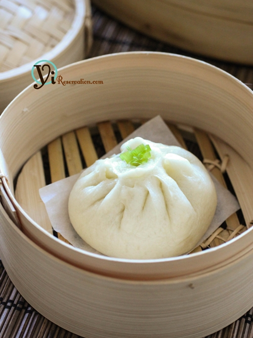 Chinese Steamed Meat Buns (baozi) 包子