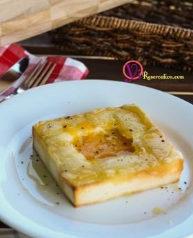 Truffled Egg Toast Recipe