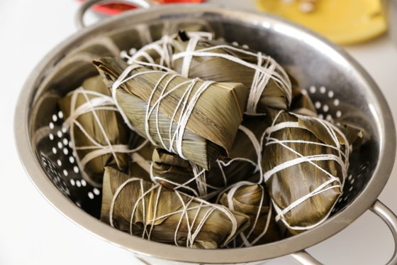 {Recipe} Zongzi Chinese Sticky Rice Dumpling