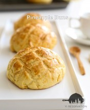 Hong Kong Pineapple Buns Recipe 港式菠蘿包