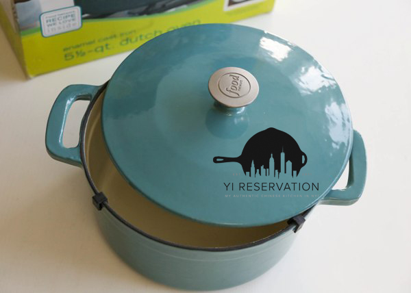 5.5-Qt Enamel Cast Iron Dutch Oven Blog Giveaway