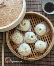 Chinese Steamed Meat Buns (Baozi) Recipe 包子