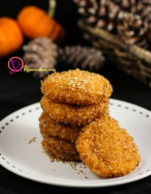 Chinese Fried Pumpkin Cake Recipe | 南瓜餅