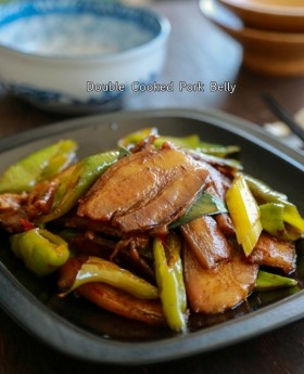 Sichuan Double cooked pork belly