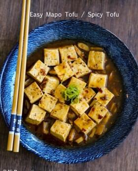 Easy Sichuan Mapo Tofu / Spicy Tofu