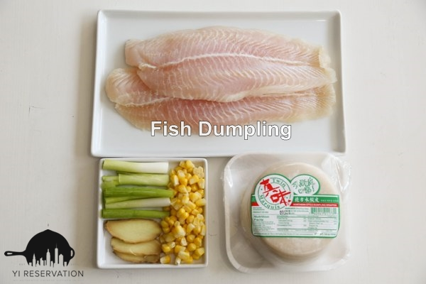 Ginger and Scallion Fish Dumpling Recipe