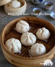 char siu bao/roast pork bun