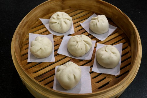 char siu bao / roast pork bun step15