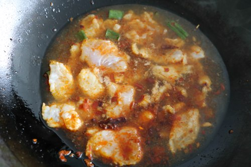 {Recipe} Fish Fillet in Spicy Chili Oil 水煮