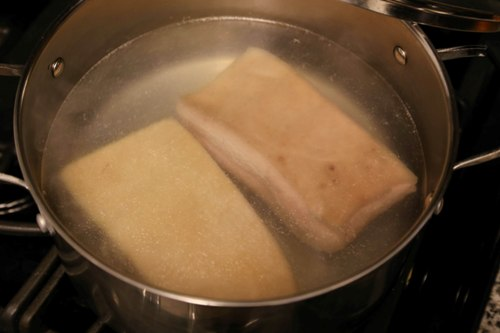 cripsy pork belly siu yuk step1