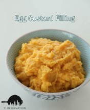 {Recipe} Egg Custard Filling 奶黃