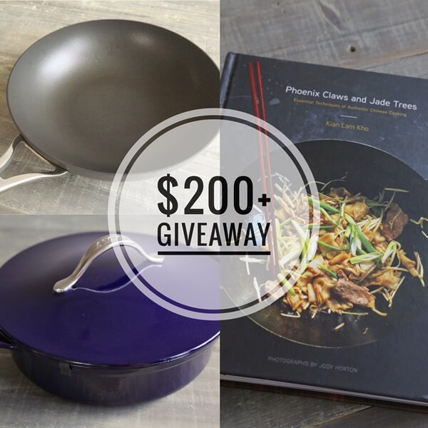 Free Anolon cookware and Phoenix Claws and Jade Trees Cookbook