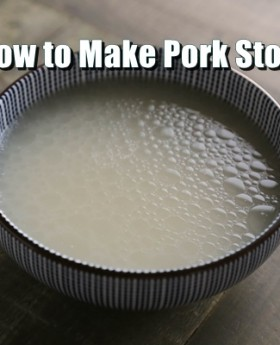 "=""{Technique} Basic Pork Bone Stock 湯底"
