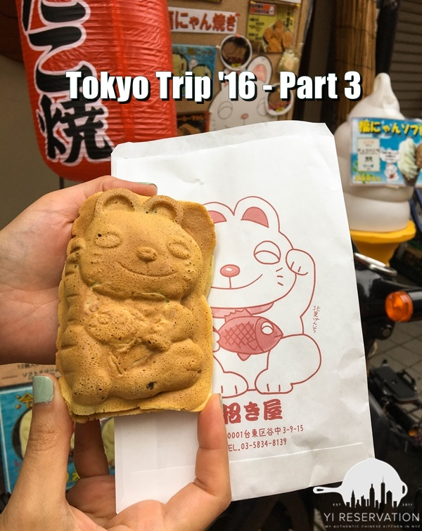 Food and travel Tokyo Japan part 3