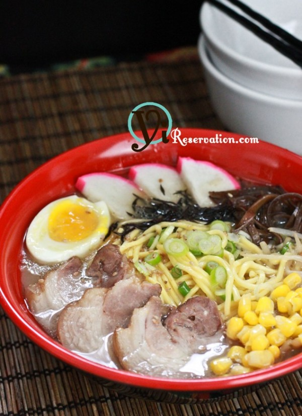 pork bone Ramen recipe