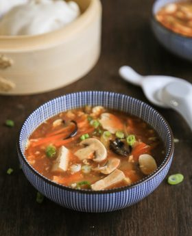 hwo to make hot and sour soup recipe