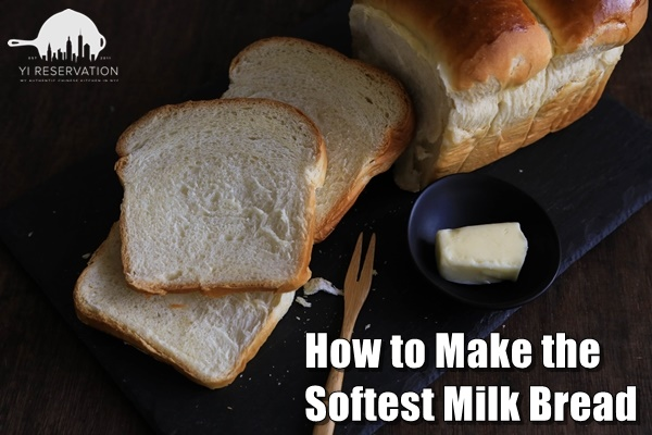 fluffy Asian Milk Bread with no mixer