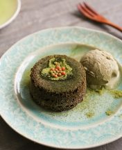 how to make matcha molten lava cake for valentine's day