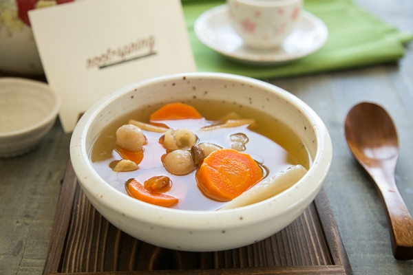 Chinese Chicken Herbal Soup for Health and Immunity