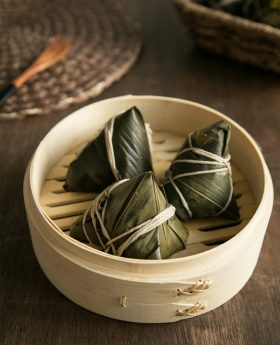 how to make red bean sticky rice dumpling zongzi recipe
