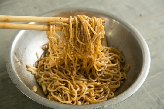 how to make sweet cinnamon cold noodle recipe