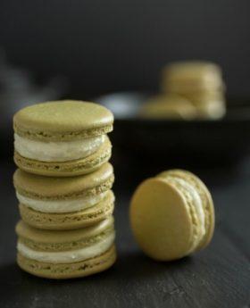 matcha macarons recipe