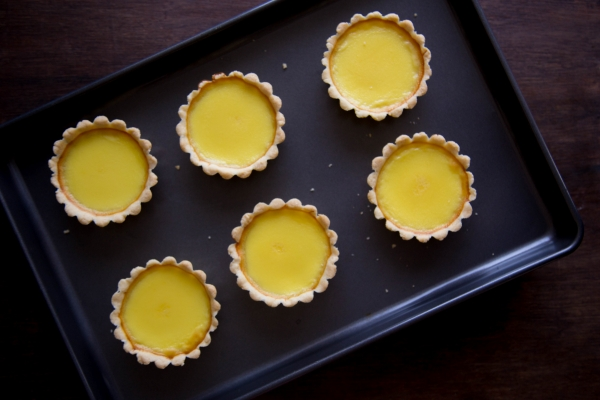 How to make Chinese Egg Tarts Easy Recipe 4