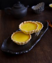 How to make Chinese Egg Tart Recipe Feature