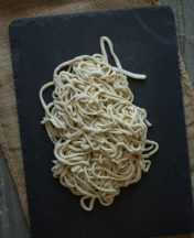 handmade fresh Chinese noodle recipe